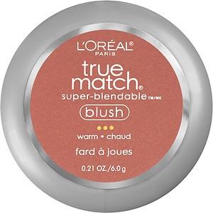 L'Oreal Paris True Match Super-Blendable Blush, Soft Sun W7-8