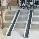 Duro-Med 5' Telescoping Adjustable Wheelchair Ramps- 1 pr