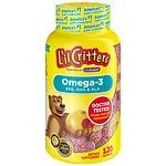 L'il Critters Omega-3 DHA Gummy Fish- 120 ea