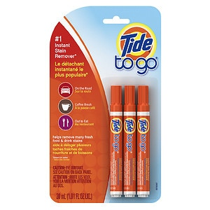 Tide To Go Instant Stain Remover Pens- 3 ea