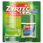 Zyrtec Allergy, 24 Hour 10 mg, Tablets- 30 ea