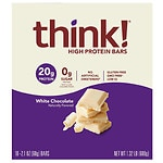 thinkThin High Protein Bar, White Chocolate