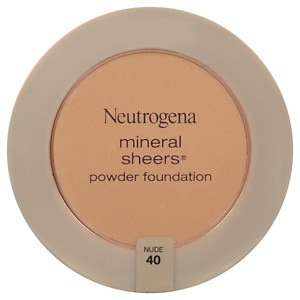 Neutrogena Mineral Sheers Powder Foundation, Nude 40- 1 ea