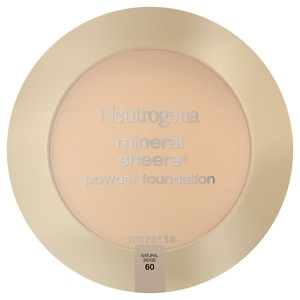 Neutrogena Mineral Sheers Powder Foundation, Natural Beige 60