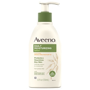 Aveeno Active Naturals Daily Moisturizing Lotion, SPF 15- 12 fl oz