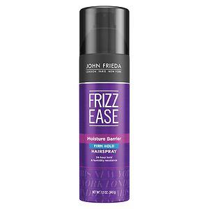 John Frieda Frizz-Ease Moisture Barrier Hairspray, Firm-Hold- 12 oz
