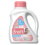 Dreft Ultra Laundry, for Babies 0-18 months, 32 Loads
