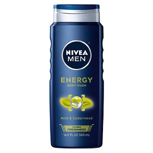 Nivea Men 3 in 1 Body Wash, Energy- 16.9 fl oz