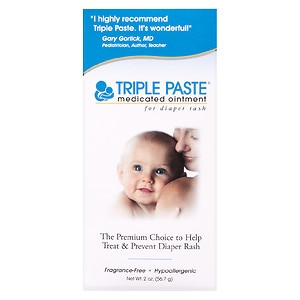 Triple Paste Medicated Ointment for Diaper Rash- 2 oz