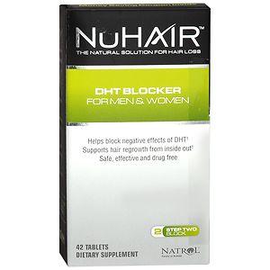 NuHair DHT Blocker for Men & Women- 42 tablets