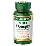 Nature's Bounty Super B Complex +C 100ct