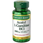 Nature's Bounty Acetyl L-Carnitine & ALA 200mg caps 30ct