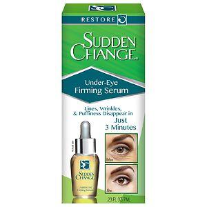 Sudden Change Under-Eye Firming Serum- .23 oz