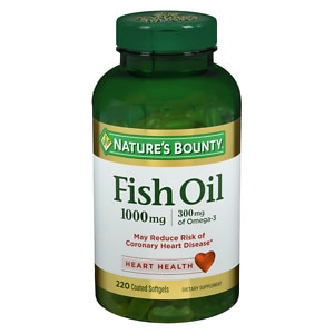 Nature 39 s bounty odorless fish oil 1000mg softgels for Cla vs fish oil