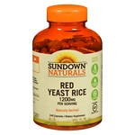 Sundown Naturals Red Yeast Rice, 1200mg, Capsules- 240 ea