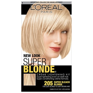 L'Oreal Super Blonde Creme Lightening Kit, Super Bleach Blonde 205
