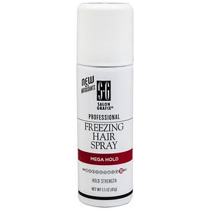 Salon Grafix Professional Freezing Hair Spray Finishing Mist, Mega Hold&nbsp;