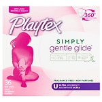Playtex Gentle Glide Tampons, Unscented, Ultra, 36 ea
