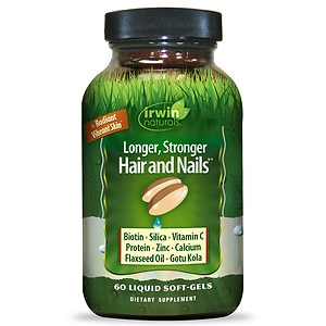 Irwin Naturals Healthy Skin & Hair plus Nails Liquid Softgels