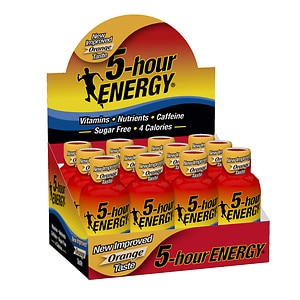 5-Hour Energy Shot, Orange, 12 pk- 2 oz