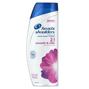 Head & Shoulders Smooth & Silky 2 in 1 Dandruff Shampoo & Conditioner- 23.7 oz