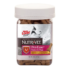 Nutri-Vet Pet-Ease Wafers For Dogs, 8 oz