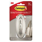 Command Strips Damage-Free Hanging: Decorative Large Hook,