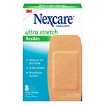 Nexcare Comfort Flexible Fabric Bandage, Knee and Elbow