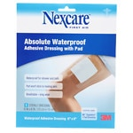 Nexcare Absolute Waterproof Adhesive Dressing wtih Pad, 6 x 6