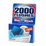 2000 Flushes Blue plus Bleach, Automatic Bowl Cleaner- 3.5 oz