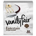 Vanity Fair Premium Dinner Napkins- 80 ea