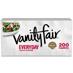 Vanity Fair Everyday Premium Napkins- 200 ea