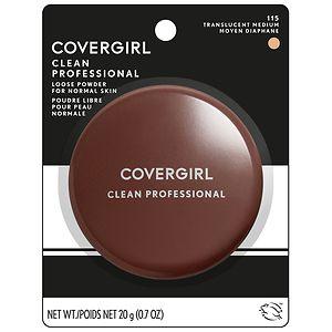 CoverGirl Professional Loose Powder, Translucent Medium 115
