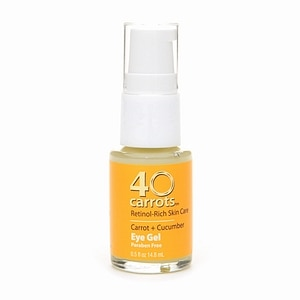 40 Carrots Carrot + Cucumber Eye Gel- .5 fl oz