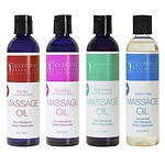 Master Massage Aromatherapy Massage Oil ,Variety 4 Pack