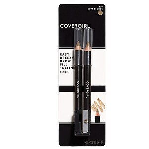 CoverGirl Brow & Eye Makers Brow Shaper and Eyeliner, Soft Blonde 520- 1 set