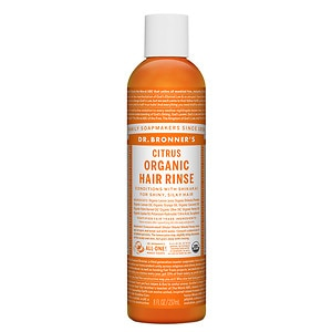 Dr. Bronner's Citrus Hair Conditioning Rinse,&nbsp;