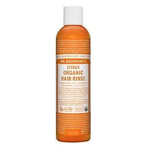 Dr. Bronner's Citrus Organic hair Rinse- 8 fl oz