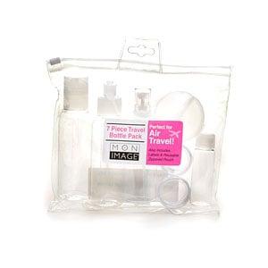 Mon Image 7 Piece Travel Bottle Pack- 1 set