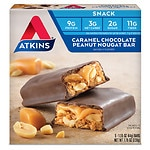 Atkins Advantage Snack Bars, Caramel Chocolate Peanut Nougat