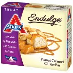 Atkins Endulge Treats, 5 pk, Peanut Caramel Cluster- 1.2 oz