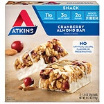 Atkins Day Break Snack Bars, 5 pk, Cranberry Almond- 1.2 oz