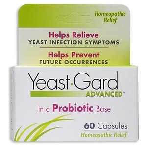 YeastGard Homeopathic Capsules- 60 ea