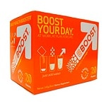EBOOST Daily Health Booster Effervescent Powder Packets, 20 pk, Orange- .25 oz