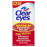 Clear eyes Maximum Redness Relief, Eye Drops
