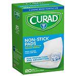 Curad Non-Stick Pads, 2 in x 3 in- 20 ea