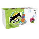 Bounty Quilted Napkins, Assorted White & Prints