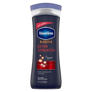 Vaseline Men Body & Face Lotion, 10 fl oz
