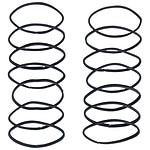 Scunci No Damage Elastics, Black