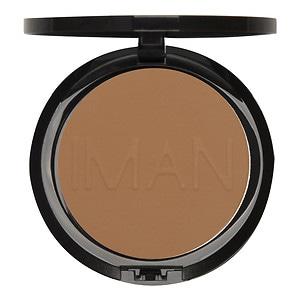IMAN Luxury Pressed Powder, Clay Medium-Dark